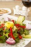 Bunter Salat Stockfotos