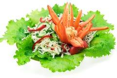 Bunter Salat lizenzfreie stockfotografie