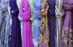 Bunter Schal Stockbilder