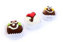 Bunter Schokoladenball Stockbilder