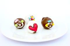Bunter Schokoladenball Stockfotos