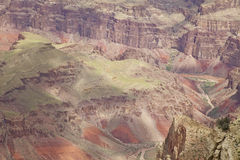 Bunter schroffer Grand Canyon Lizenzfreie Stockbilder