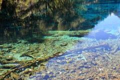 Bunter See in Nationalpark Jiuzhaigou Stockfoto