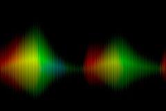 Bunter Spektrumhintergrund Stockbild