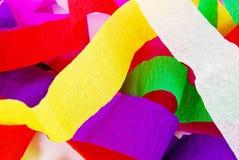 Bunter Spektrummaulbeere-Papierhintergrund Stockbilder