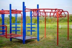 Bunter Spielplatz stockbilder