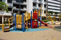 Bunter Spielplatz Stockbild