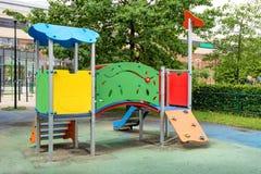 Bunter Spielplatz für Kinder Lizenzfreie Stockbilder