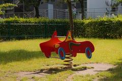 Bunter Spielplatz für Kinder Lizenzfreies Stockbild