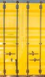 Bunter Stapel Containerverschiffung Stockbild