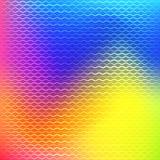 Bunter Steigungsmaschenhintergrund in den hellen Regenbogenfarben Lizenzfreie Stockfotografie