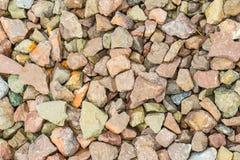 Bunter Stein für Hintergrund Stockbilder