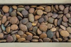 Bunter Steinhintergrund Stockbilder