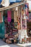 Bunter Straße Bazar in altem Jerusalem Stockfotografie