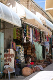 Bunter Straße Bazar in altem Jerusalem Stockfoto