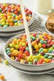 Bunter Sugar Breakfast Cereal Lizenzfreies Stockbild