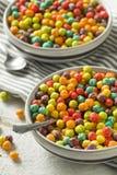 Bunter Sugar Breakfast Cereal Lizenzfreie Stockbilder