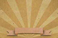 Bunter Sunbeams grunge Hintergrund mit Farbband Stockfoto