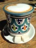 Bunter Tasse Kaffee Lizenzfreie Stockbilder
