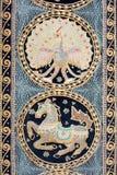 Bunter Teppich der Weinlese Stockfoto