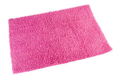 Bunter Teppich oder Fußmatte für Reinigungsfüße Lizenzfreies Stockfoto