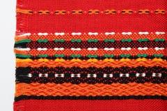 Bunter Textilhintergrund Lizenzfreie Stockfotografie