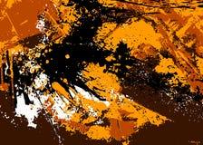 Bunter Tintenspritzenhintergrund, Gestaltungselemente stock abbildung
