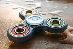 Bunter Unruhe-Spinner, Druckentlastungsspielzeug stockbild