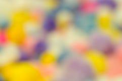 Bunter unscharfer Hintergrund Stockfoto