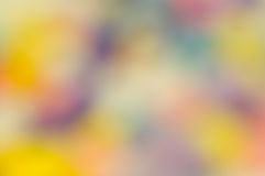 Bunter unscharfer Hintergrund Stockfotografie