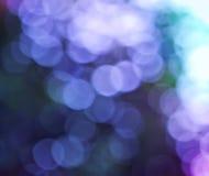 Bunter unscharfer Hintergrund in den blauen Farben Lizenzfreies Stockbild
