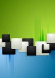 Bunter Unternehmenstechnologiehintergrund Stockbild