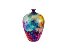 Bunter Vase Lizenzfreies Stockfoto