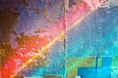 Bunter Wandhintergrund stockbilder