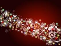 Bunter Weihnachtshintergrund Lizenzfreies Stockfoto