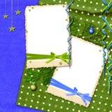 Bunter Weihnachtshintergrund Lizenzfreies Stockbild