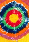 Buntes abstraktes Bindungs-Färbungs-Muster-Design-Grün-rotes Gelb stockbild