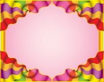 Buntes abstraktes Feld. Stockbild