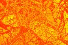 Buntes, abstraktes Muster des Minerals in einem Polarisierungsmikrographen Lizenzfreie Stockfotos