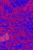 Buntes, abstraktes Muster des Minerals in einem Polarisierungsmikrographen Lizenzfreies Stockbild