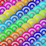 Buntes abstraktes Muster Design Stockbild