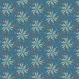 Buntes abstraktes nahtloses Muster Stockbilder