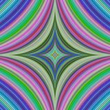 Buntes abstraktes quadratisches Hintergrunddesign Stockbild