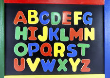 Buntes Alphabet Lizenzfreies Stockbild