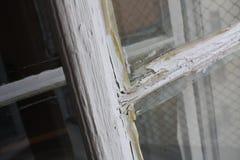 Buntes antikes Fenster Lizenzfreies Stockfoto