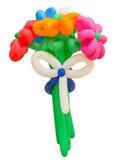 Buntes Bündel Ballone lokalisiert Lizenzfreies Stockfoto