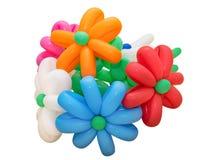 Buntes Bündel Ballone lokalisiert Lizenzfreie Stockfotografie