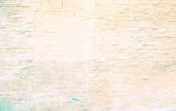 Buntes Backsteinmauermuster, gemalte Ziegelsteine als städtische Beschaffenheit Lizenzfreie Stockbilder