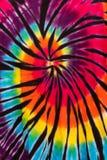 Buntes Bindungs-Färbungs-Spiralen-Muster-Design stockbild
