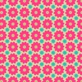 Buntes Blumen-Vektor-Muster Lizenzfreie Stockfotografie